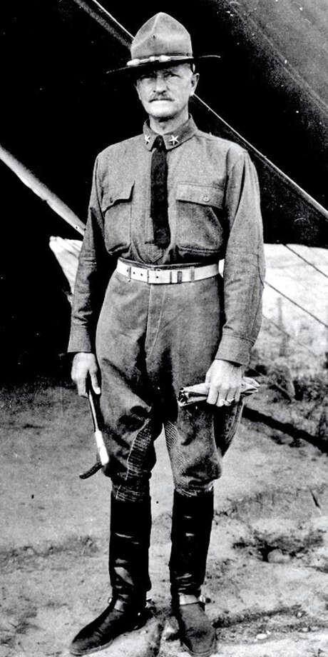 Sept. 10, 1919 (Wed): Return of General John J. Pershing. Photo: FORT SAM HOUSTON MUSEUM