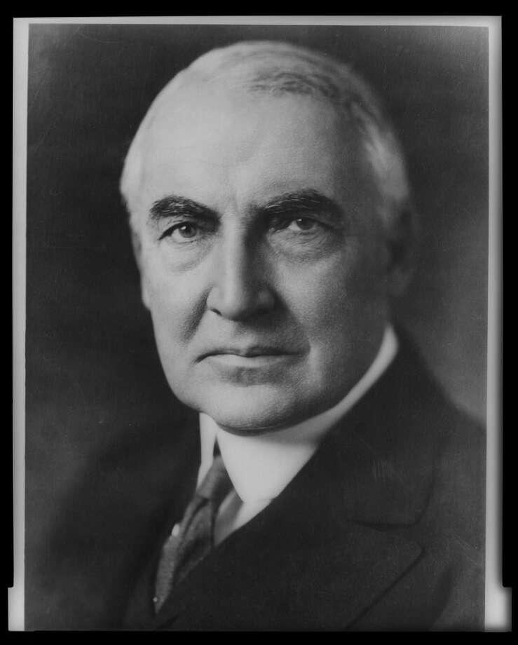 Aug. 3, 1923 (Fri): Death of President Warren G. Harding. (LIBRARY OF CONGRESS)