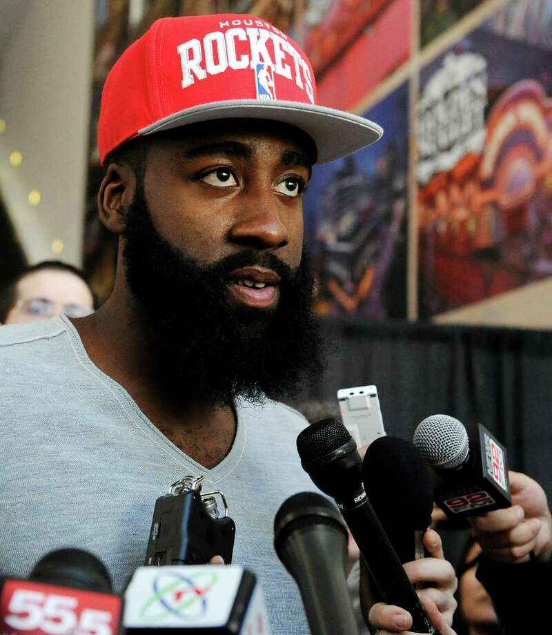 New Rocket James Harden isn't the only star with rockin' facial hair. Check out Houston's best beards.  Photo: Pat Sullivan, Associated Press / AP