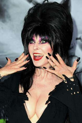 Elvira says she loves that drag queens take cues from her. Photo: Frederick M. Brown, Getty Images / Getty Images North America