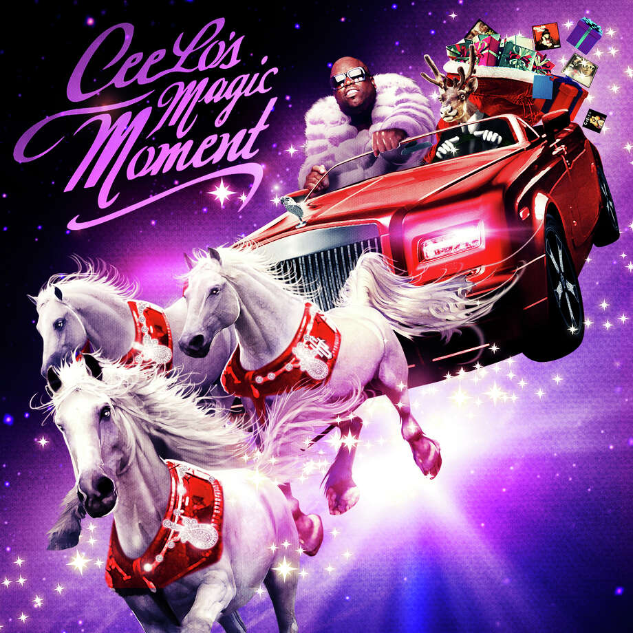 "CeeLo Green's ""CeeLo's Magic Moment"" makes us wish it would pull a disappearing act. Poof!  Photo: Cd Cover"