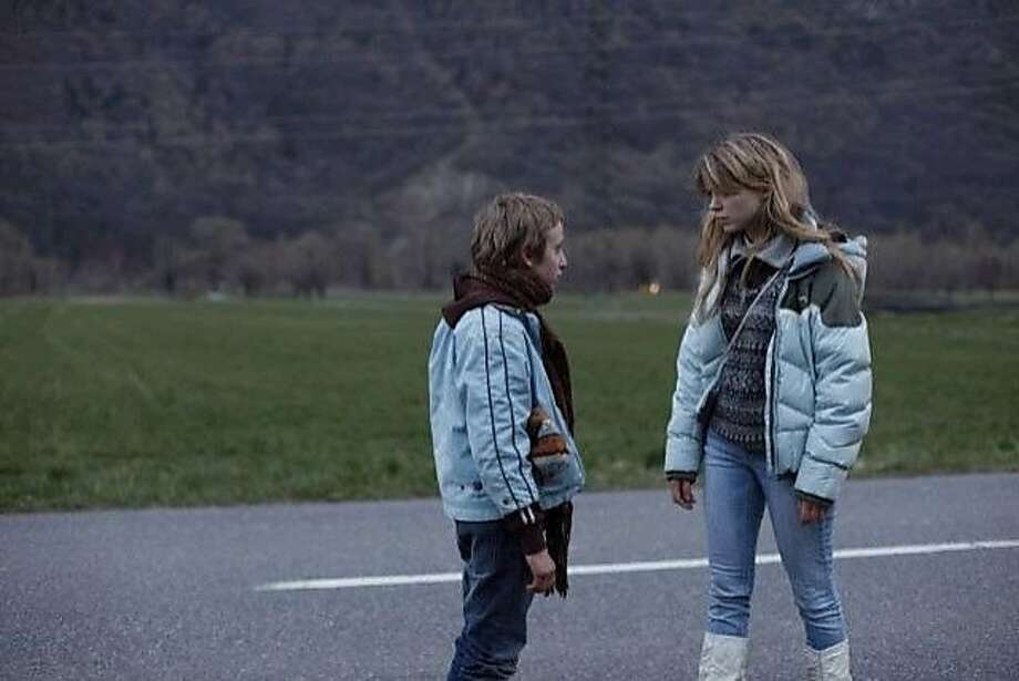"""Simon (Kacey Mottet Klein) and Louise (Lea Sedoux) in """"Sister,"""" about a boy who steals from the wealthy at a Swiss resort to support his sister. Photo: Adopt Films"""
