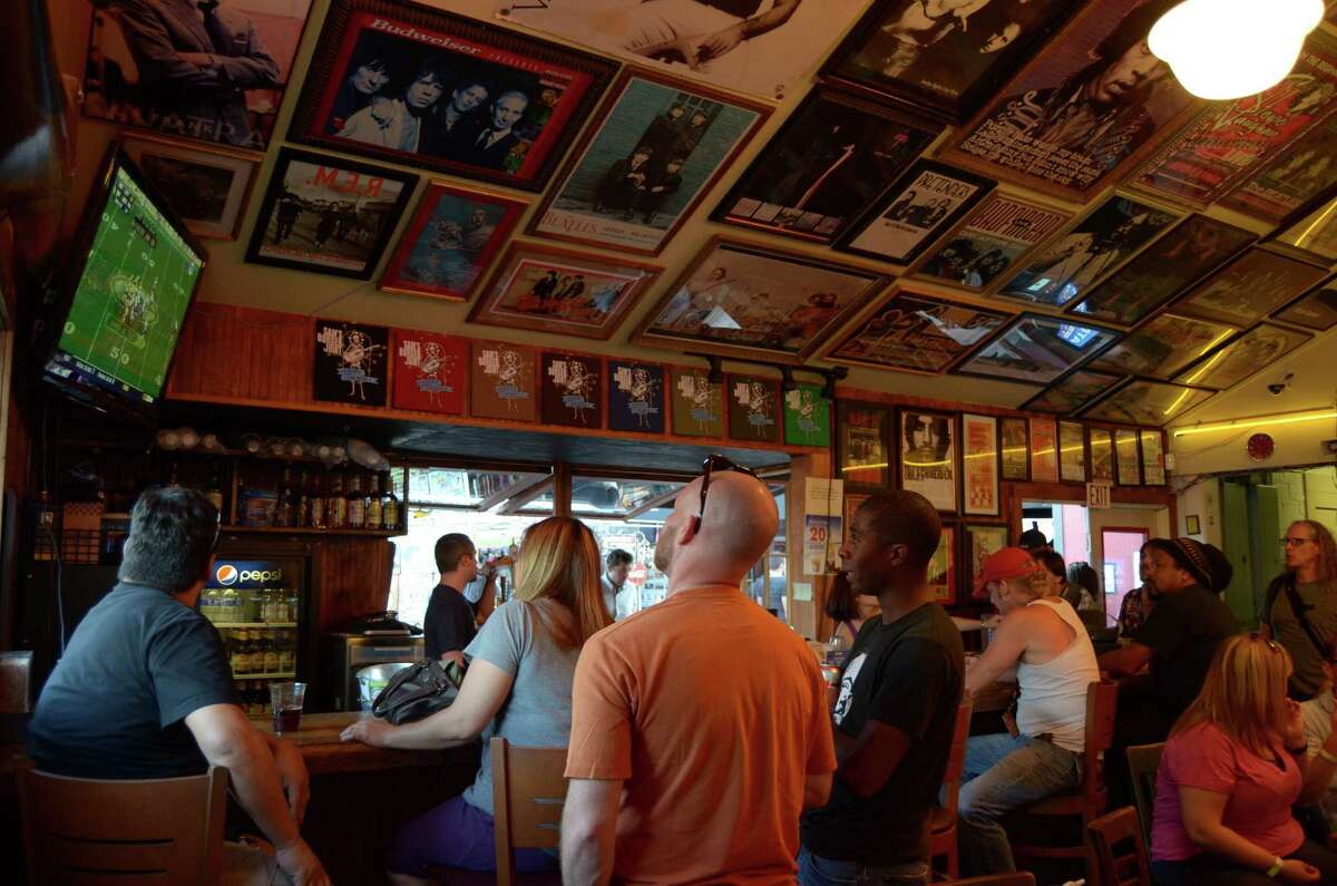 Sam's Burger Joint is truely a one-of-a-kind hotspot in San Antonio, known for its apptitude for music, both local and famous, as well as its art scene and of course, its food in an expanse space that includes two bars and two seperate buildings. Robin Johnson