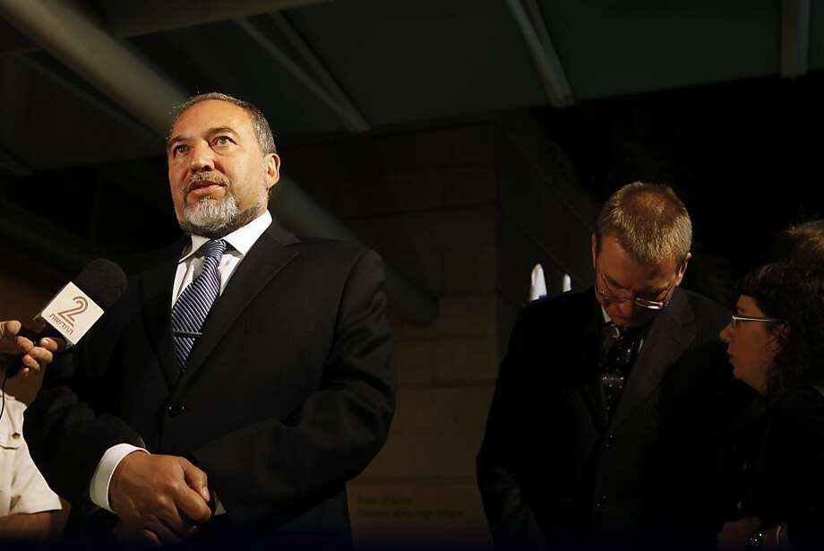 Avigdor Lieberman, Israel's foreign minister and head of Yisrael Beitenu, hails the coalition. Photo: Gali Tibbon, AFP/Getty Images
