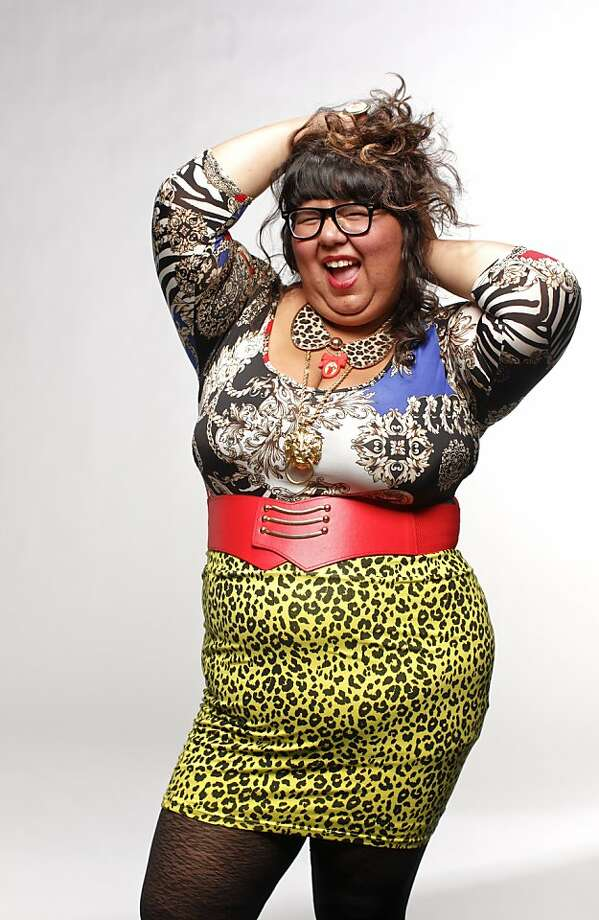 Virgie Tovar has left her shy, adolescent self far behind as she campaigns for fat acceptance. Photo: Russell Yip, The Chronicle