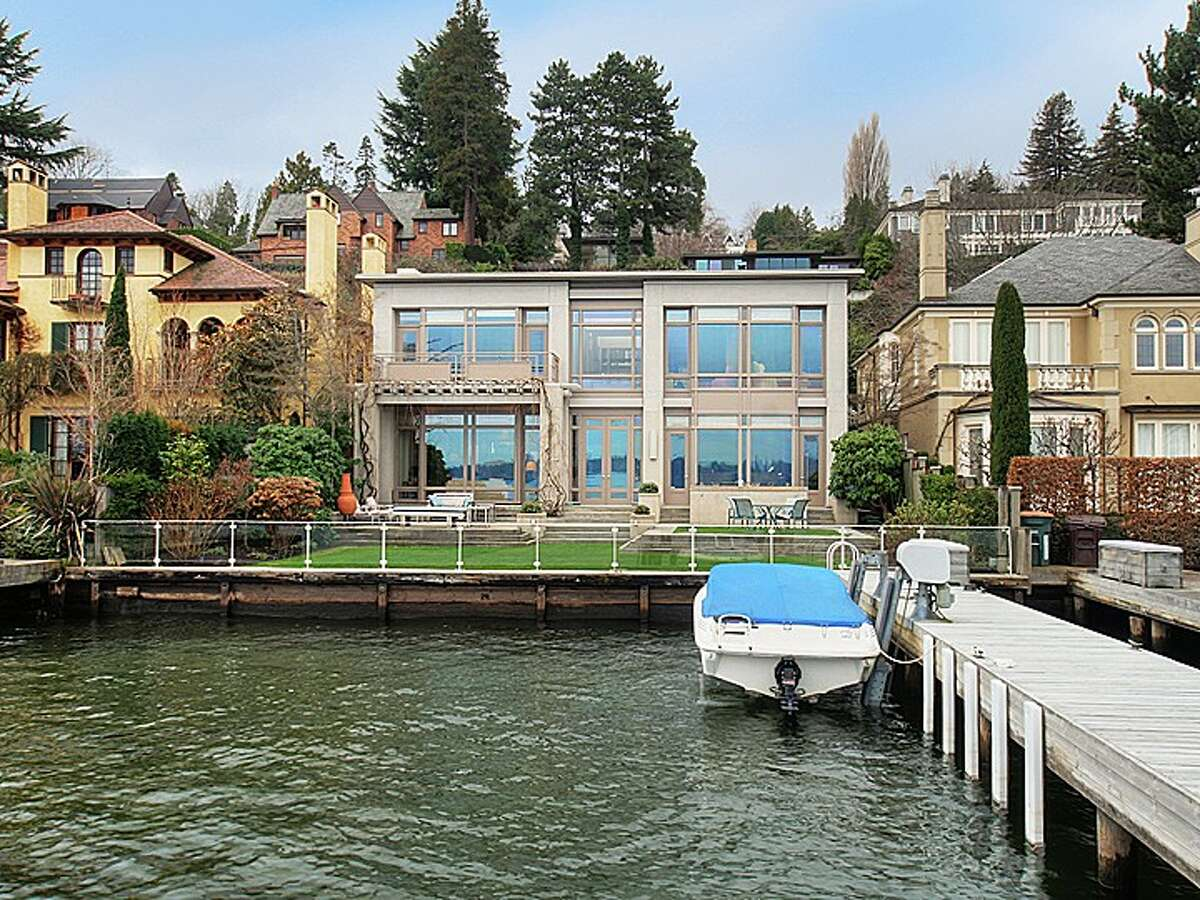 452 39th Ave. E., in Washington Park. The 4,200-square-foot house, built in 1988, has three bedrooms and 2.25 bathrooms -- including a master suite with a balcony -- floor-to-ceiling windows, high ceilings and French doors on a 6,420-square-foot terraced lot with a dock and boat lift in Lake Washington. It's listed for $6.355 million.