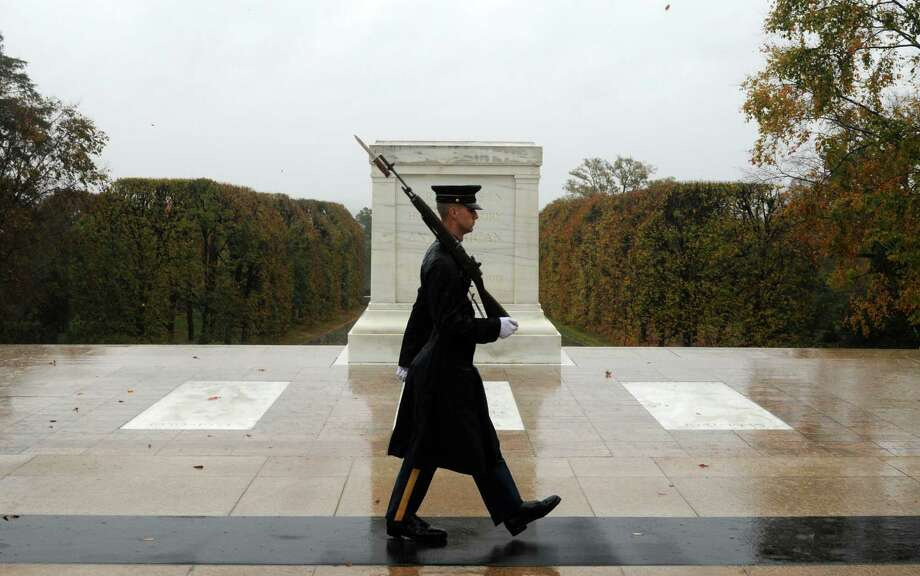 MONDAY:A Wreath laying ceremony will be held at the Tomb of the Unknown Soldier, concluding a series of events marking the 150th anniversary of Arlington National Cemetery, where the first burials took place on 13 May 1864. The site was officially designated as a military cemetery on 15 Jun 1864. Photo: Sgt. Jose A. Torres Jr., HO / US Army