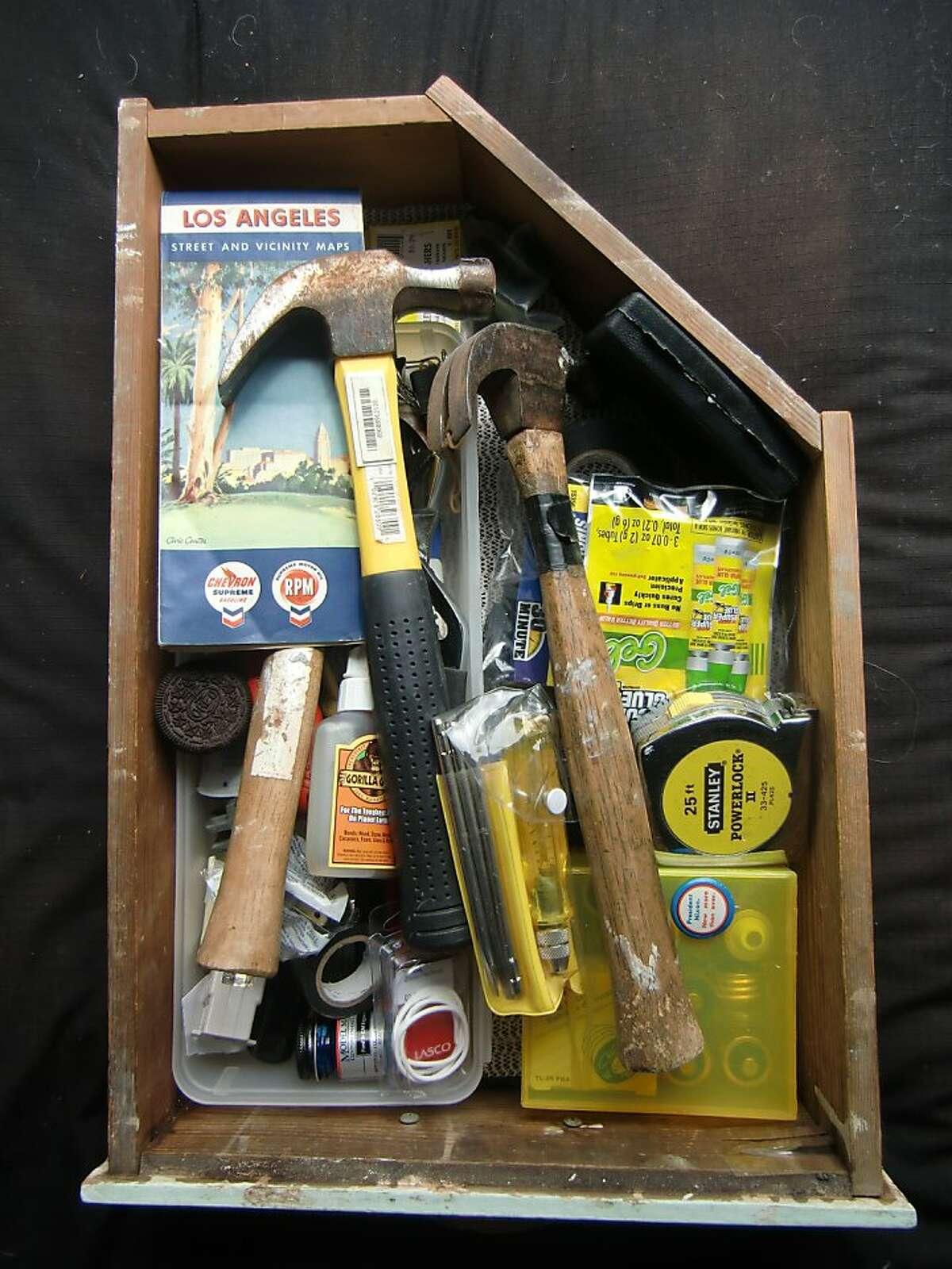The Rubenstein junk drawer.