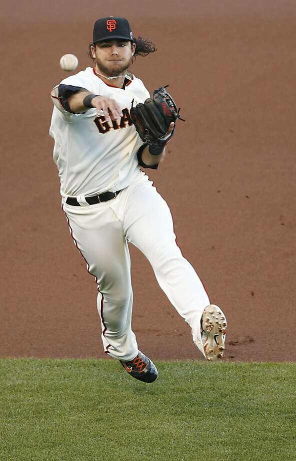 Brandon Crawford Photo: Beck Diefenbach, Special To The Chronicle
