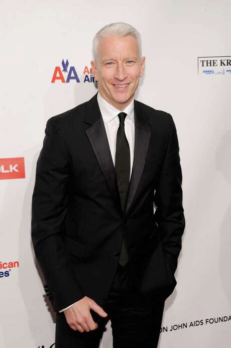 NEW YORK, NY - OCTOBER 15:  Anderson Cooper attends the Elton John AIDS Foundation's 11th Annual An Enduring Vision Benefit at Cipriani Wall Street on October 15, 2012 in New York City.  (Photo by Dimitrios Kambouris/Getty Images) Photo: Dimitrios Kambouris, Staff / Getty Images North America