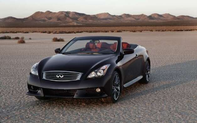 No. 9: Infiniti G Convertible (Nissan Motor Co.)