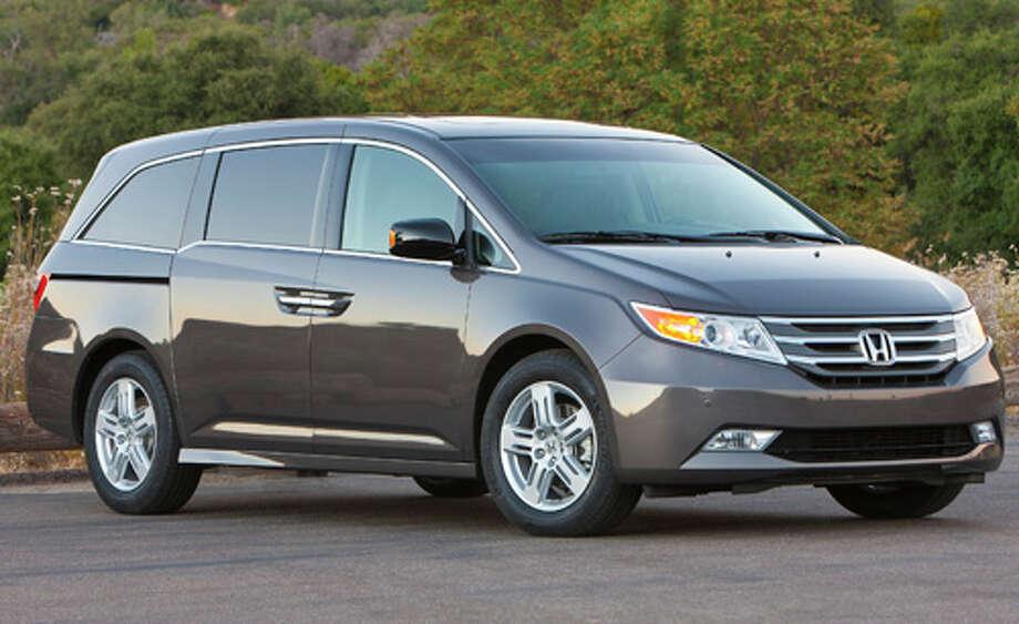 No. 6: Honda Odyssey (Honda / Honda Motor Co. ) Photo: Honda, Wieck / © 2010 American Honda Motor Co., Inc.