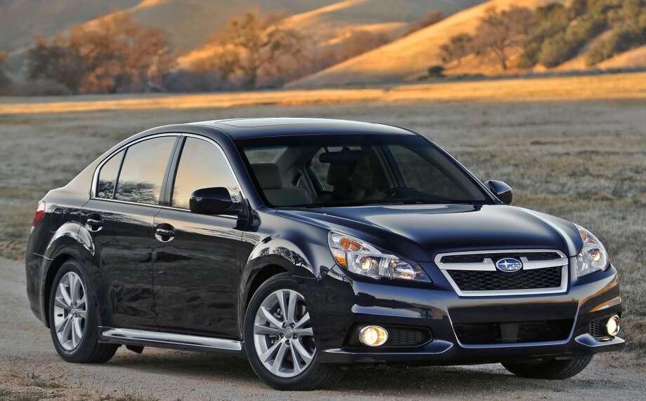 No. 5: Subaru Legacy  (Subaru of America)