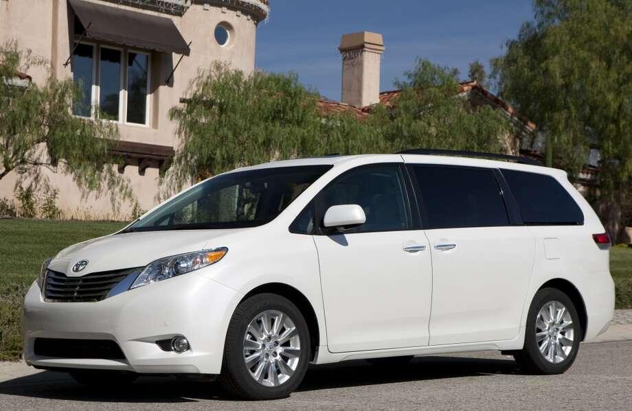 No. 2: Toyota Sienna  (Toyota Motor Sales U.S.A.)
