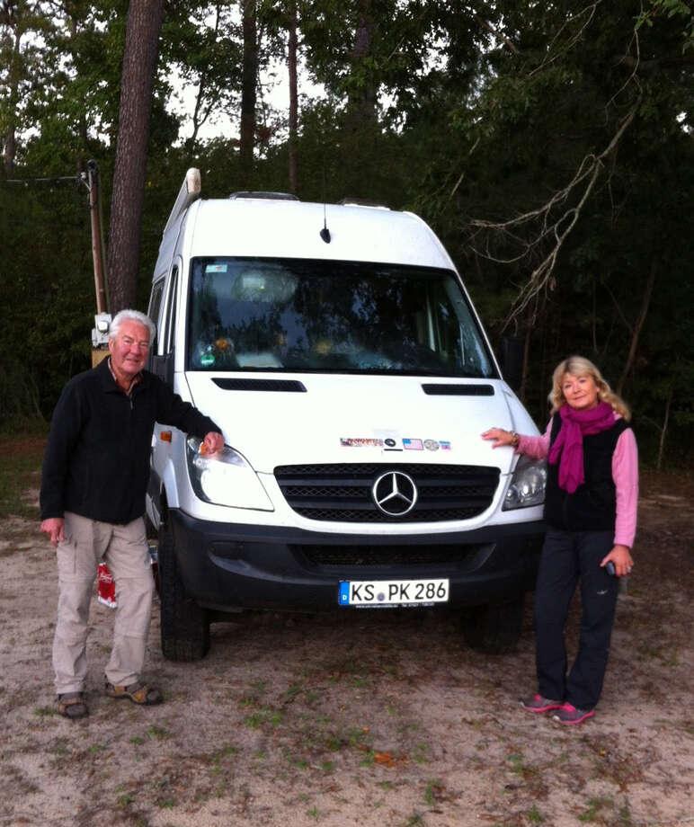 The Freitags on their visit in Jasper. Photo: Courtesy Photo
