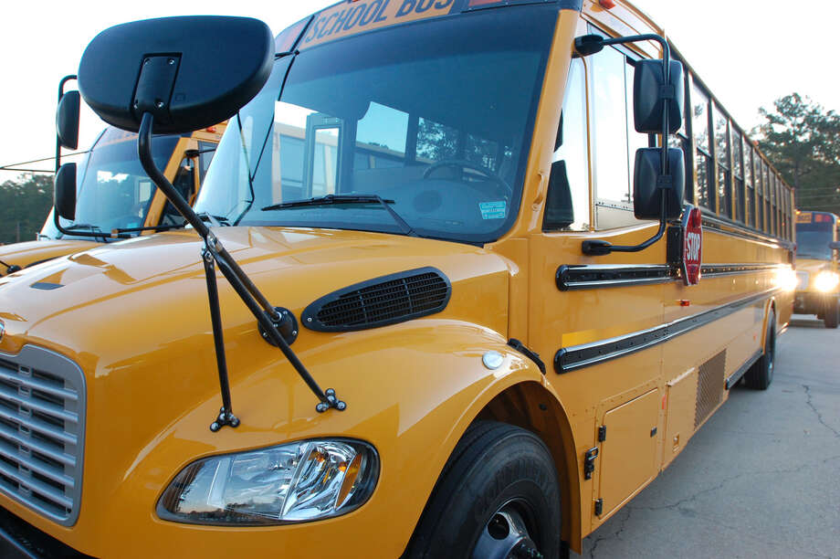 Jasper ISD new school buses. Photo: Jimmy Galvan