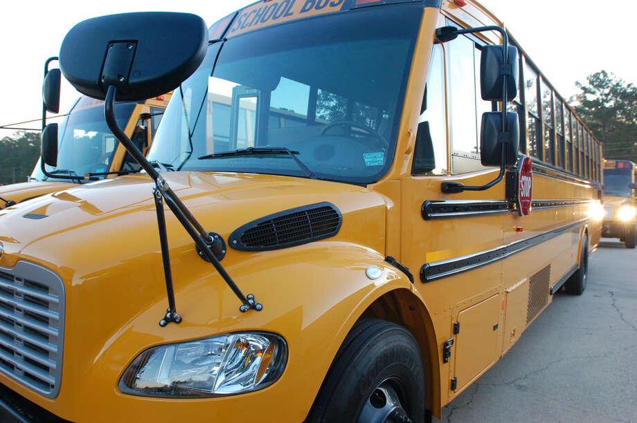 Jasper ISD new school buses. Photo: Jimmy Galvan