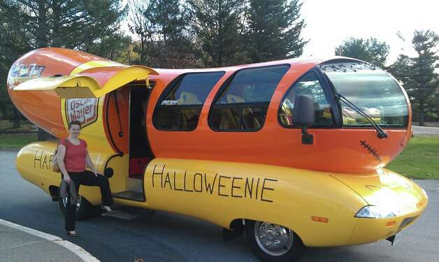 wienermobile driven with relish times union. Black Bedroom Furniture Sets. Home Design Ideas