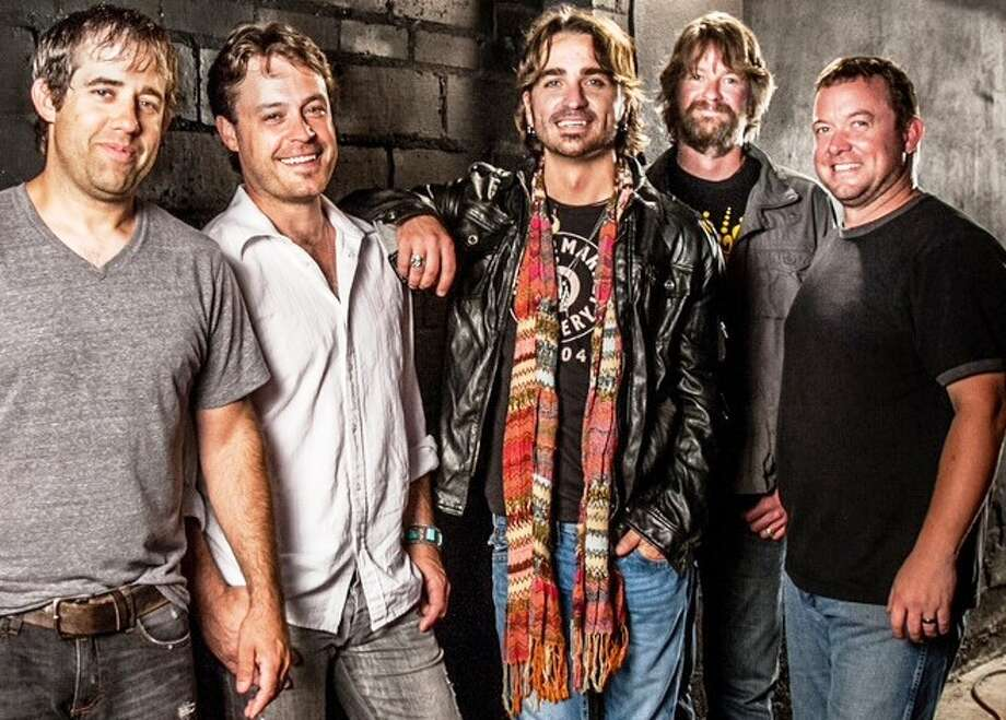Texas Music band Cody Canada & the Departed -- from left, Chris Doege, Seth James, Cody Canada, Steve Littleton, Jeremy Plato Photo: Purifoy Photography