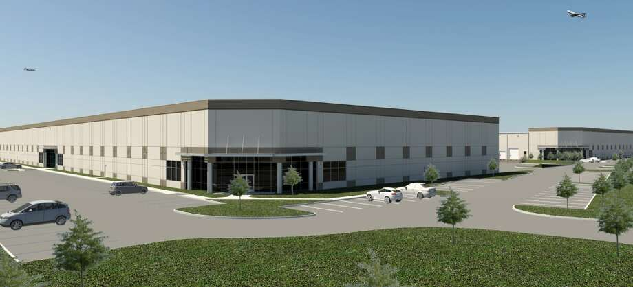 Liberty Property Trust is building Liberty 10 at Central Green, a warehouse/distribution building totaling 163,600 square feet, on a speculative basis. It will be designed for one or more tenants.  (Cadence McShane Construction Co.)