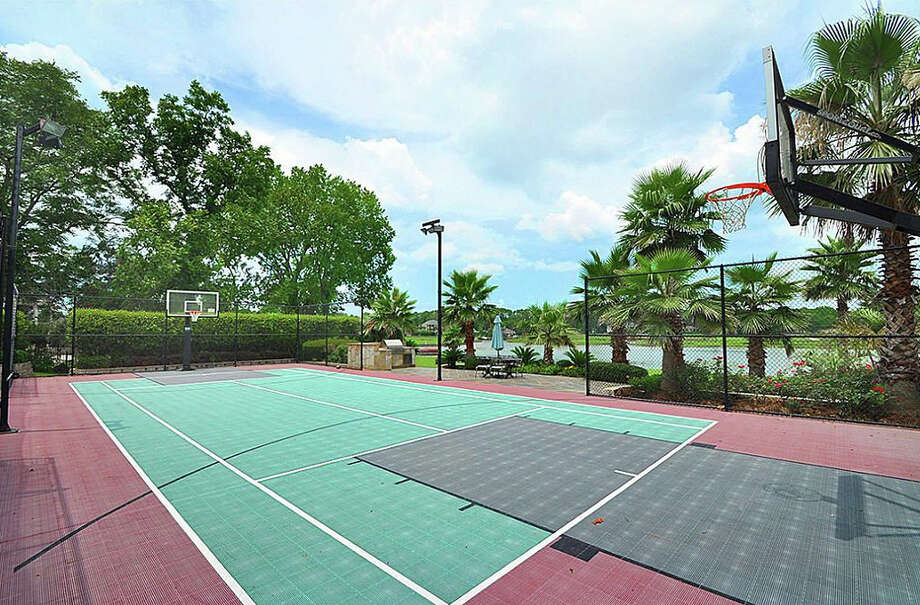 It also features a full basketball and tennis court. Photo: Travis Nichols