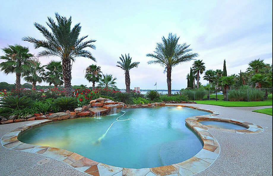 The home also features a gorgeous pool and spa. Photo: Travis Nichols