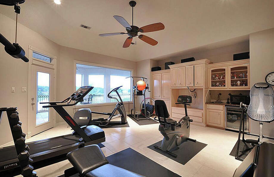 If you want to beat the heat, you can also work out inside of the home. Photo: Travis Nichols