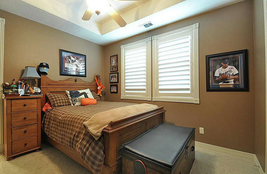 Another bedroom is great for guests or kids.