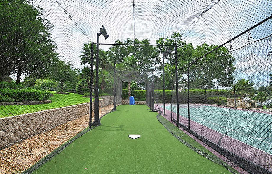 If you are into baseball, it also has a batting cage and pitching machine. Photo: Travis Nichols