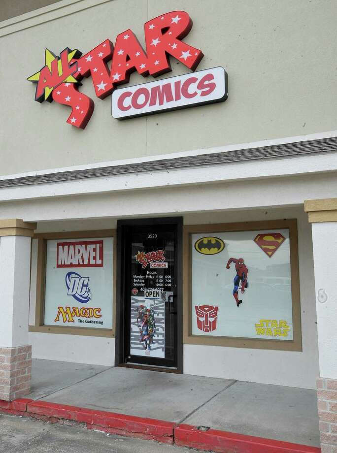 All-Star Comics, a comic book shop in Nederland, is the local business for the week of 10/25/2012.  Dave Ryan/The Enterprise Photo: Dave Ryan