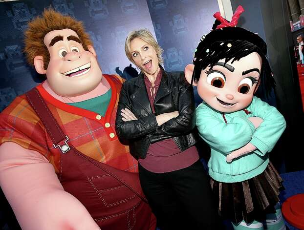 "Actress Jane Lynch at the premiere Of Walt Disney Animation Studios' ""Wreck-It Ralph"" - Red Carpet at the El Capitan Theatre on October 29, 2012 in Hollywood, California. Photo: Christopher Polk, Getty Images / 2012 Getty Images"