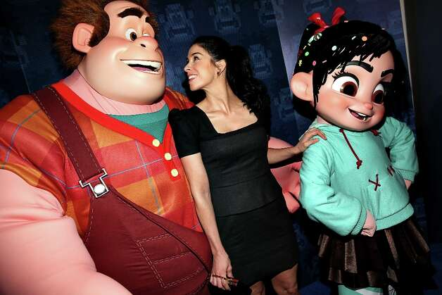 "Actress Sarah Silverman at the premiere of Walt Disney Animation Studios' ""Wreck-It Ralph"" - Red Carpet at the El Capitan Theatre on October 29, 2012 in Hollywood, California. Photo: Christopher Polk, Getty Images / 2012 Getty Images"