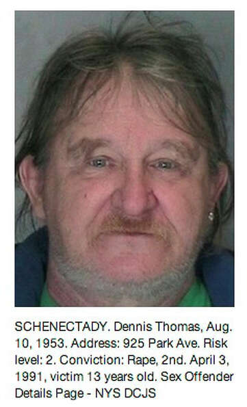 Schenectady County sex offender as displayed on the Times Union Pinterest page at