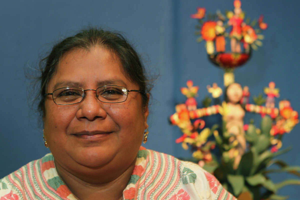 Veronica Castillo Hernandez has an art exhibit on display at the Esperanza Peace and Justice Center. The exhibit, called