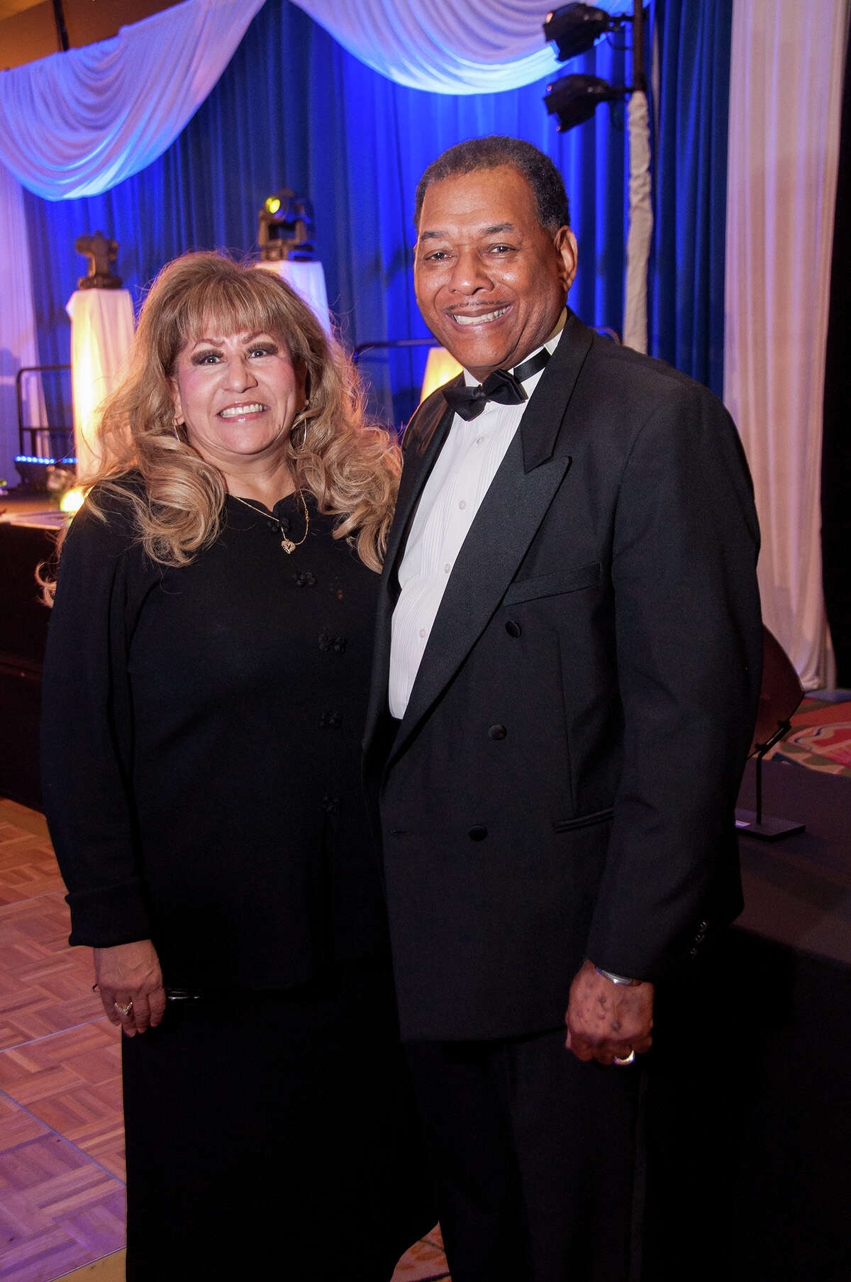 Honorees Mary Ramos and Claude Cummings attended the Houston NAACP 2012 Freedom Fund Gala on Friday, Oct. 26, 2012, at the Hilton Americas.