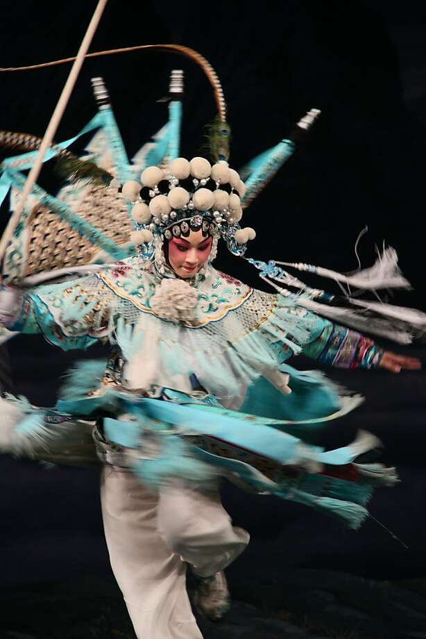 "Zi Rui performs ""Female Generals of the Yang Family,"" which is part of ""The Opera Project."" Photo: China National Peking Opera Comp"