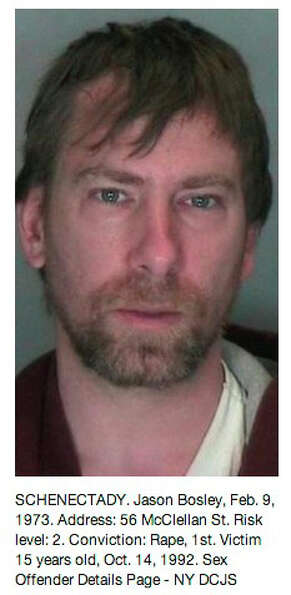 Saratoga County sex offender as displayed on the Times Union Pinterest page at