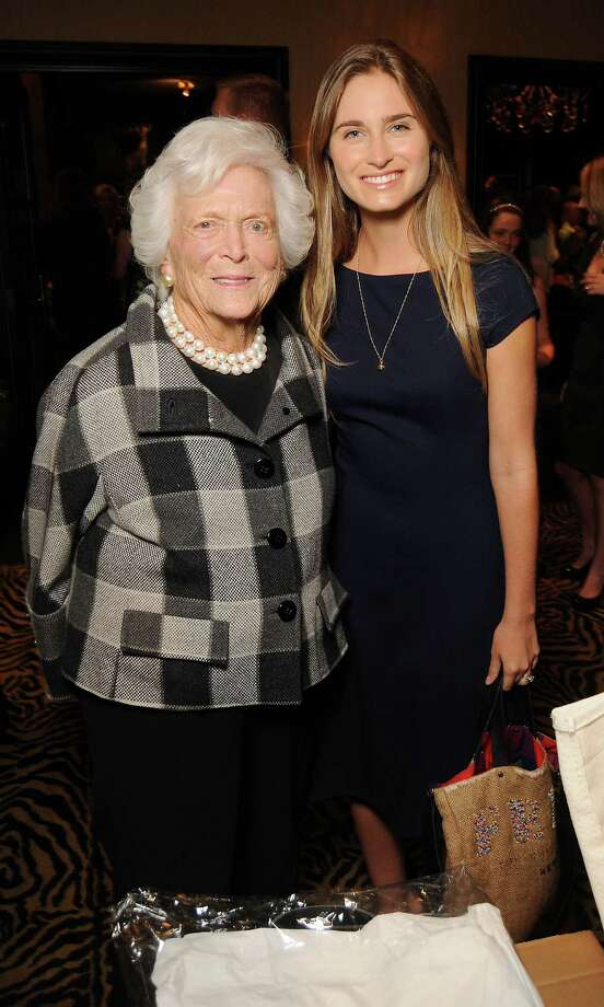 Barbara Bush, left, and Lauren Bush Lauren Photo: Dave Rossman, Freelance / Freelance