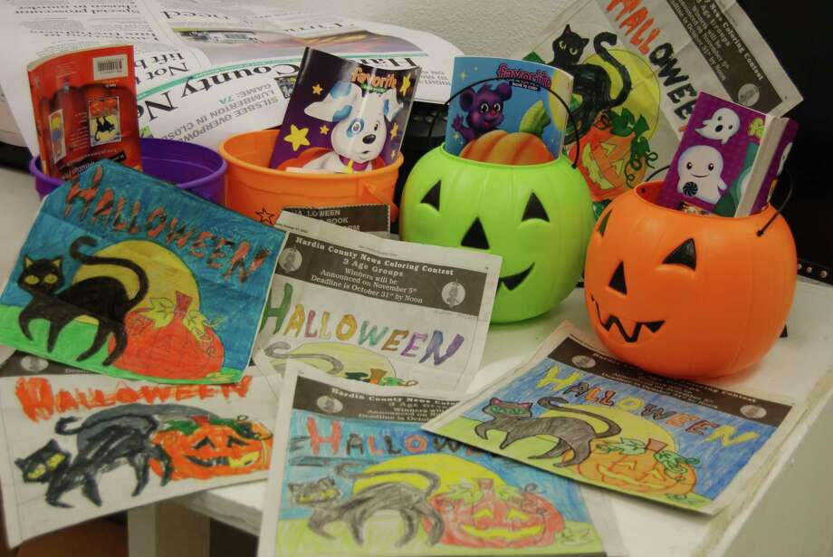 Entries for the Hardin County News Halloween coloring contest are impressive in all age catagories. Photo: Jay Cockrell / Jay Cockrell