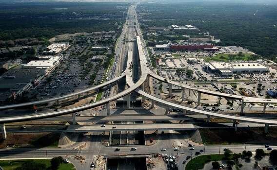U.S. 281/Loop 1604 interchange is now Easy Street - San ...