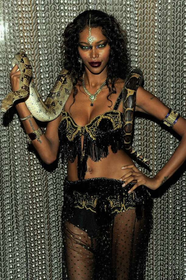 Model Jessica White attends Heidi Klum's 12th annual Halloween party at the PH-D Rooftop Lounge at Dream Downtown on October 31, 2011 in New York City. Photo: Jemal Countess, Getty Images / 2011 Getty Images