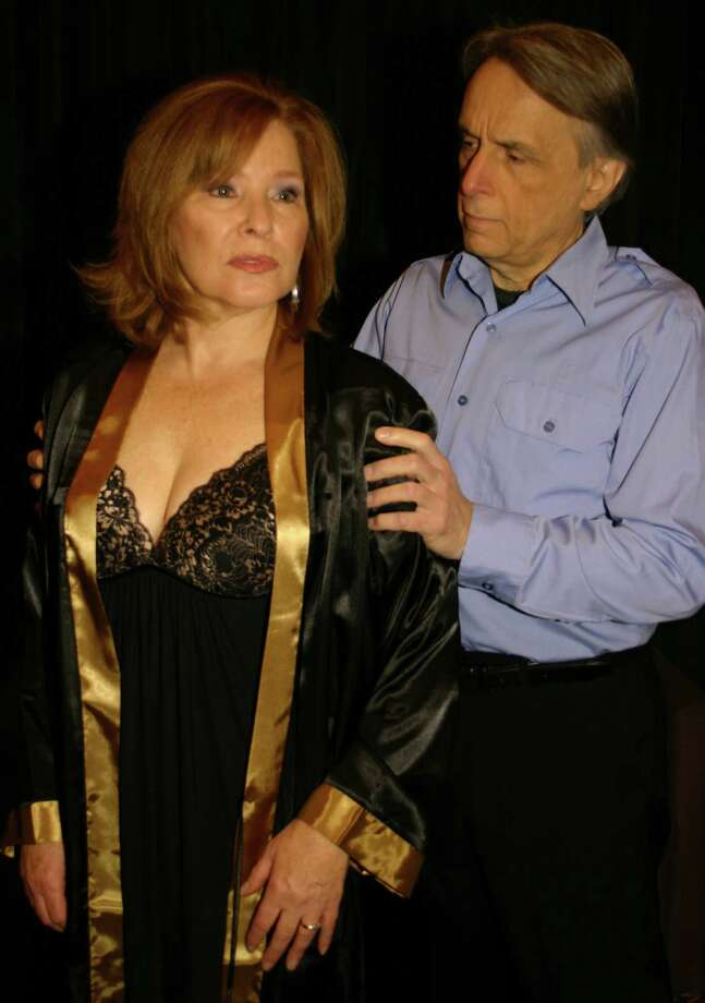 "Square One Theatre Company veterans Peggy Nelson and Al Kulcsar are co-starring in the mystery ""Deadly Murder"" that is opening the new season in Stratford on Friday, Nov. 2. Photo: Contributed Photo"