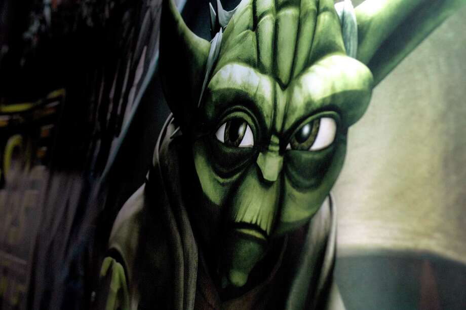 "DO NOTmake any of these new movies animated. Real ""Star Wars"" movies are live-action. That ""Clone Wars"" animated series (Yoda pictured) was kinda fun, but it just wasn't the same. Photo: Joe Corrigan, Getty Images / 2008 Getty Images"