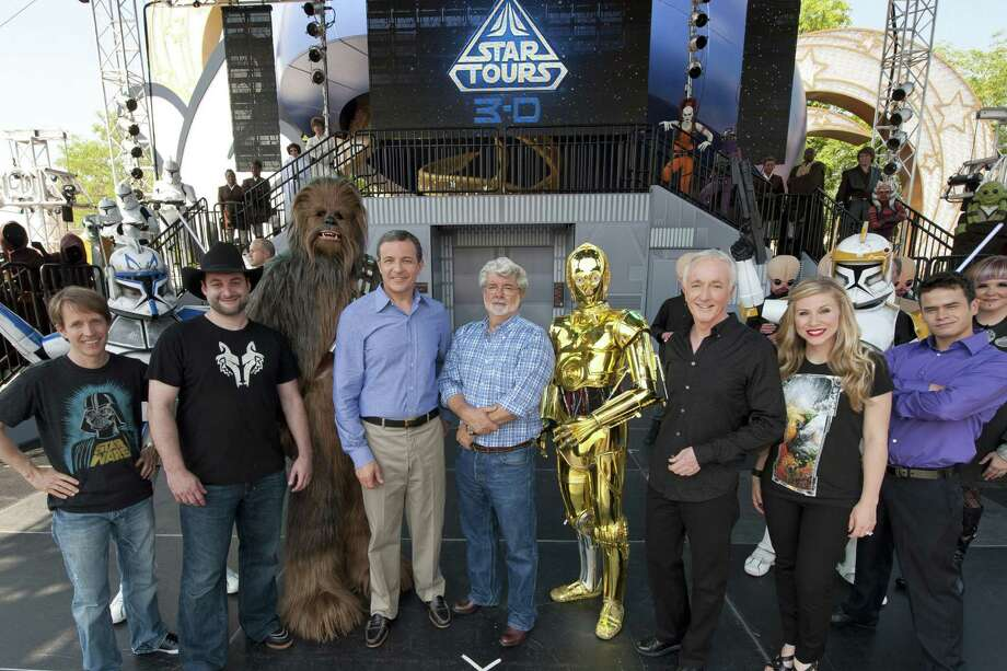 "And finally ...DO create a ""Star Wars"" theme park! C'mon Disney, we've been waiting for this! Photo: Handout, Getty Images / 2011 Disney Parks"