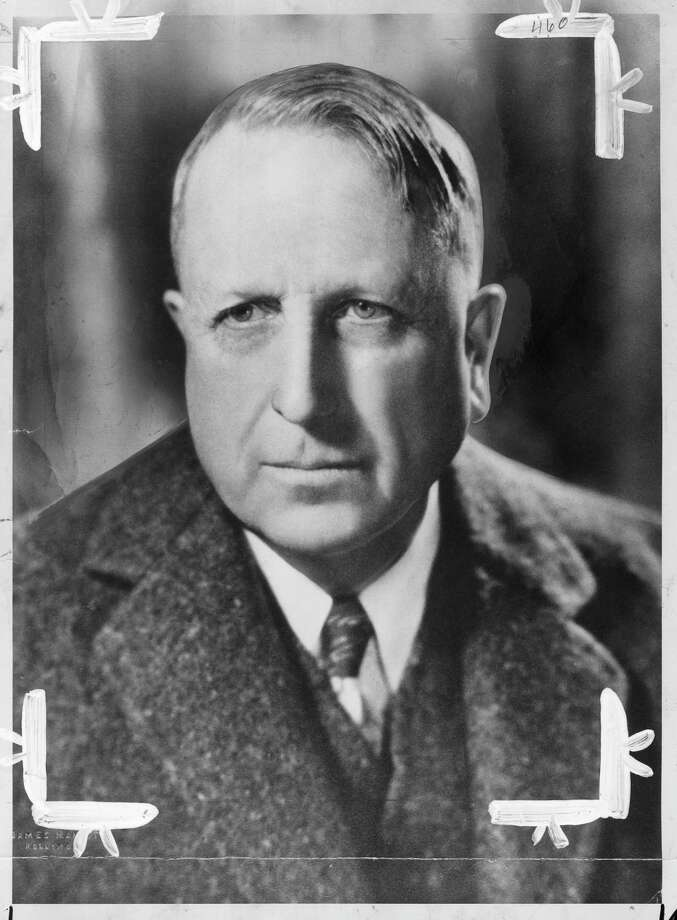 Portrait of William Randolh Hearst, received by the Examiner Library July 1947.