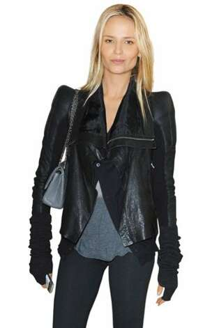 Natasha Poly BREAKFAST: Egg whites, wheat toast, a side of spinach salad, and a glass of orange juice. SKIN S.O.S.: I give myself a facial massage every morning and evening and apply L'Oréal Paris RevitaLift Triple Power cream. I like the lightweight texture. MAKEUP MUST-HAVE: L'Oréal Paris Infallible 24 HR eye shadows ($7.95 each). WORKOUT: Cardio, yoga, and running outside, since it can be done anywhere and always clears my head. Photo: Imaxtree.com
