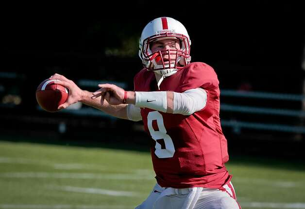 Head coach David Shaw said redshirt freshman Kevin Hogan (above) has a chance to supplant Josh Nunes as the starter. Photo: John Storey, Special To The Chronicle