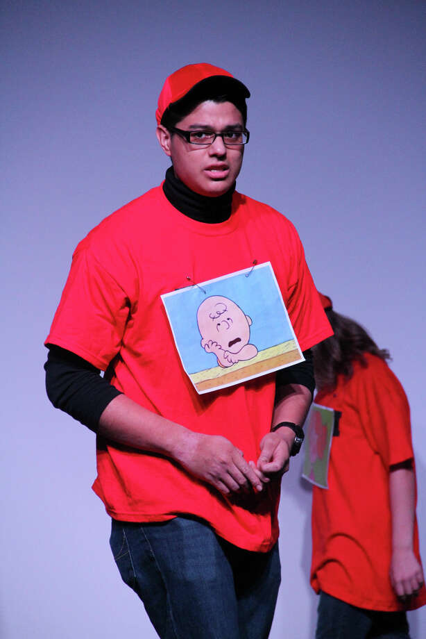 "Juan Ayala of Trumbull is playing the title role in ""You're A Good Man Charlie Brown,"" the ""Peanuts"" musical presented by the Park City Players at Bridgeport's Bijou Theatre Nov. 2 to 4. Photo: Contributed Photo"