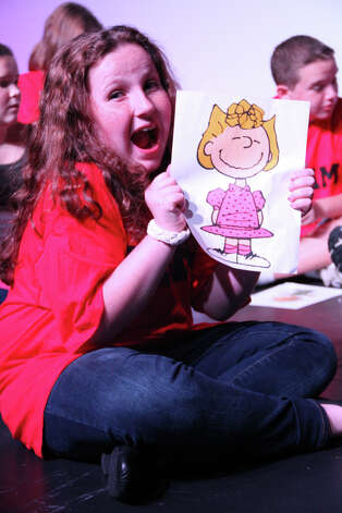 "Callie Meehan of Trumbull is Sally in the ""Peanuts"" musical ""You're a Good Man Charlie Brown"" at the Bijou Theatre in Bridgeport Nov. 2 to 4. Photo: Contributed Photo"