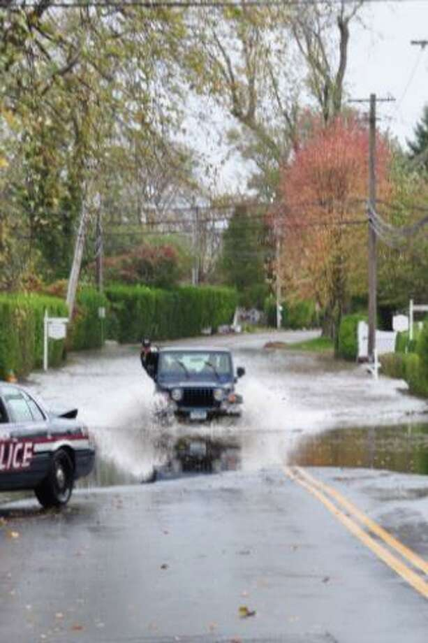 Shore Road Flooding in Greenwich